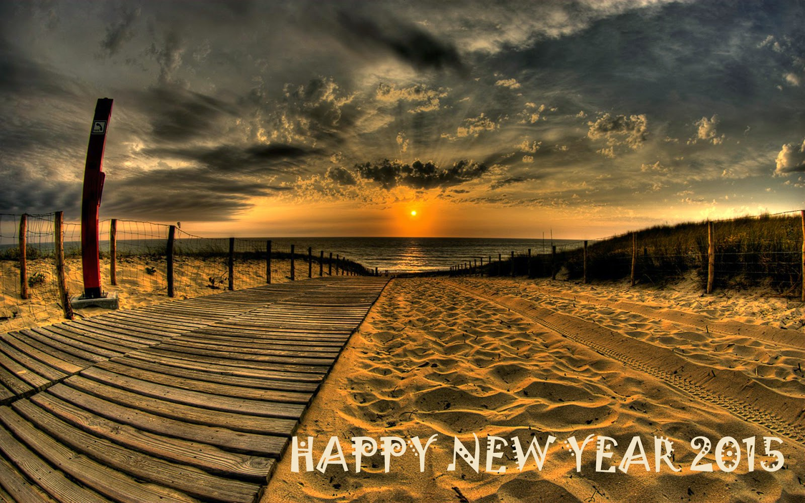 Beautiful Happy New Year 2015 Wallpapers