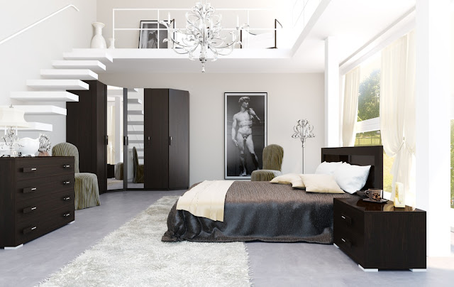 Black White And Blue Bedroom Ideas  5 Small Interior Ideas - Black White And Blue Bedroom