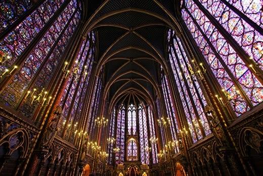 Cathedral Sainte Chapelle Paris