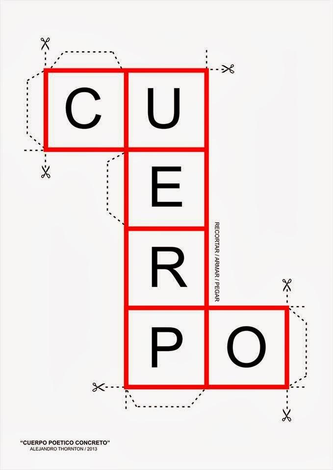 José María Marcos: Poema concreto para armar