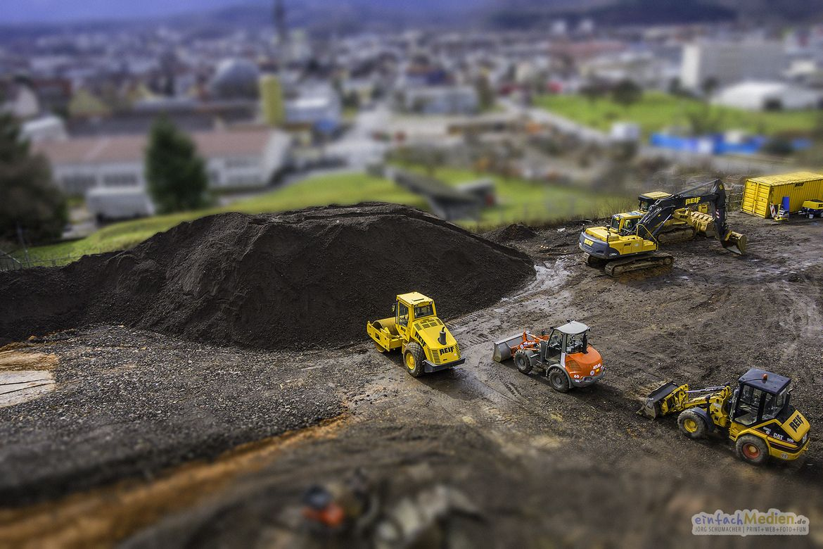 13. Tilt Shift Photography