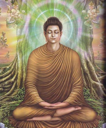 佛土現前正定,是指般若正定,也就是在正定中得到般若智慧。什麼是般若智慧?就是可以讓你回到佛國的智慧。修行人要般若正定,也就是要智慧禪定,然後才能超越三大阿僧祇劫,直接進入心靈的智慧層次,讓佛土現前。 -悟覺妙天禪師