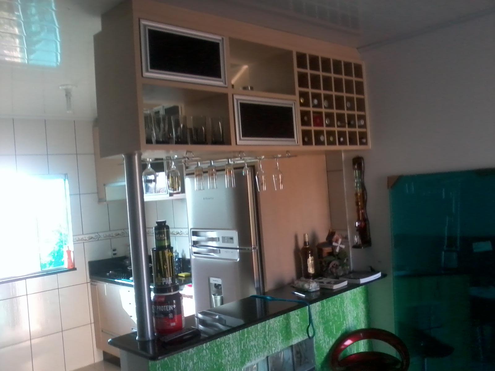 Formularte móveis sob medidas: Cozinha sob medida com mini bar #356849 1600 1200