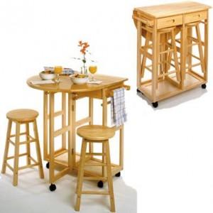 Mesas practicas de comedor