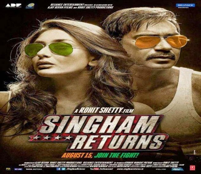 Singham Returns 2014 Official Movie Trailer