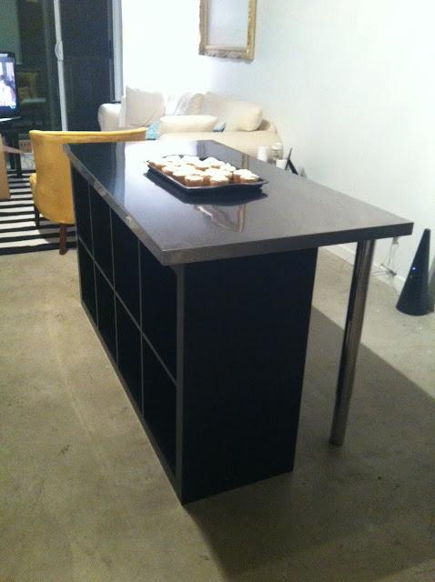 A Minha Alegre Casinha Uma Ilha Na Cozinha A Baixo Custo Ikea