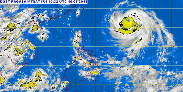 Bagyong Huaning July 10, 2013 forecast