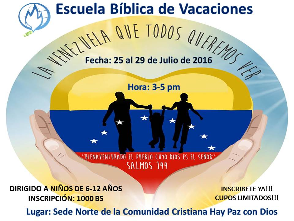 Escuela Bíblica Vacacional
