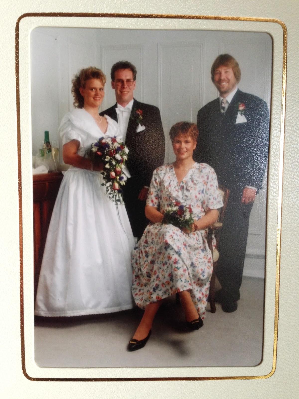 20 årig bröllopsdag