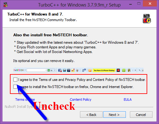 install turbo c/c++ in windows 7/windows 8