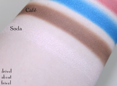 Shiseido Eye Color Bar Swatches