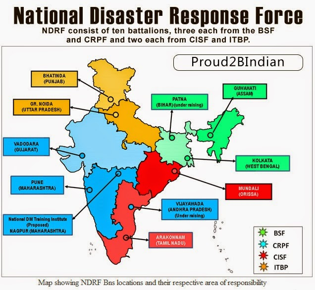 National Disaster Response Force (NDRF) of India