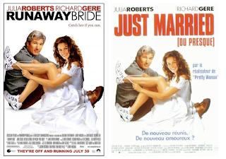 Póster de Runaway Bride en francés