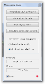 menu pilihan photoscape