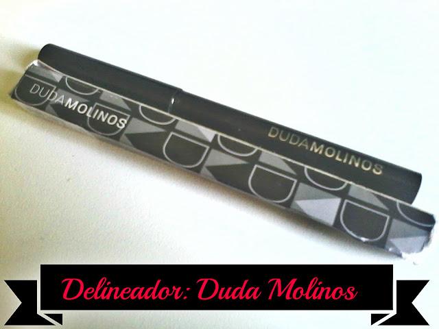 Testei: Delineador Duda Molinos