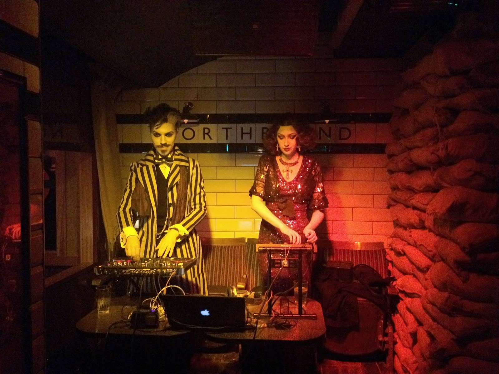 DJs at Cahoots London