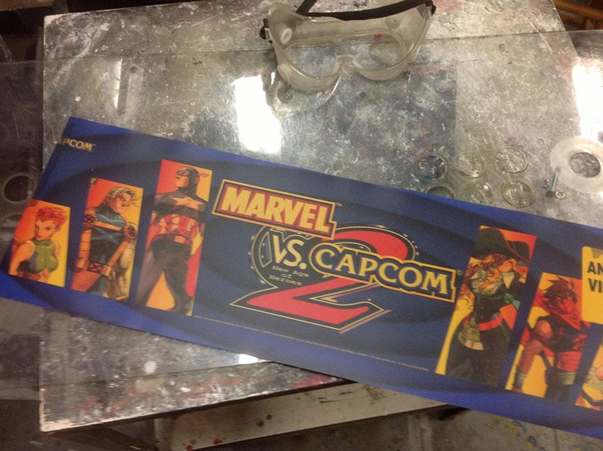 Jacob Romeo the Blog: Custom Marvel Vs. Capcom 2 Arcade cabinet!