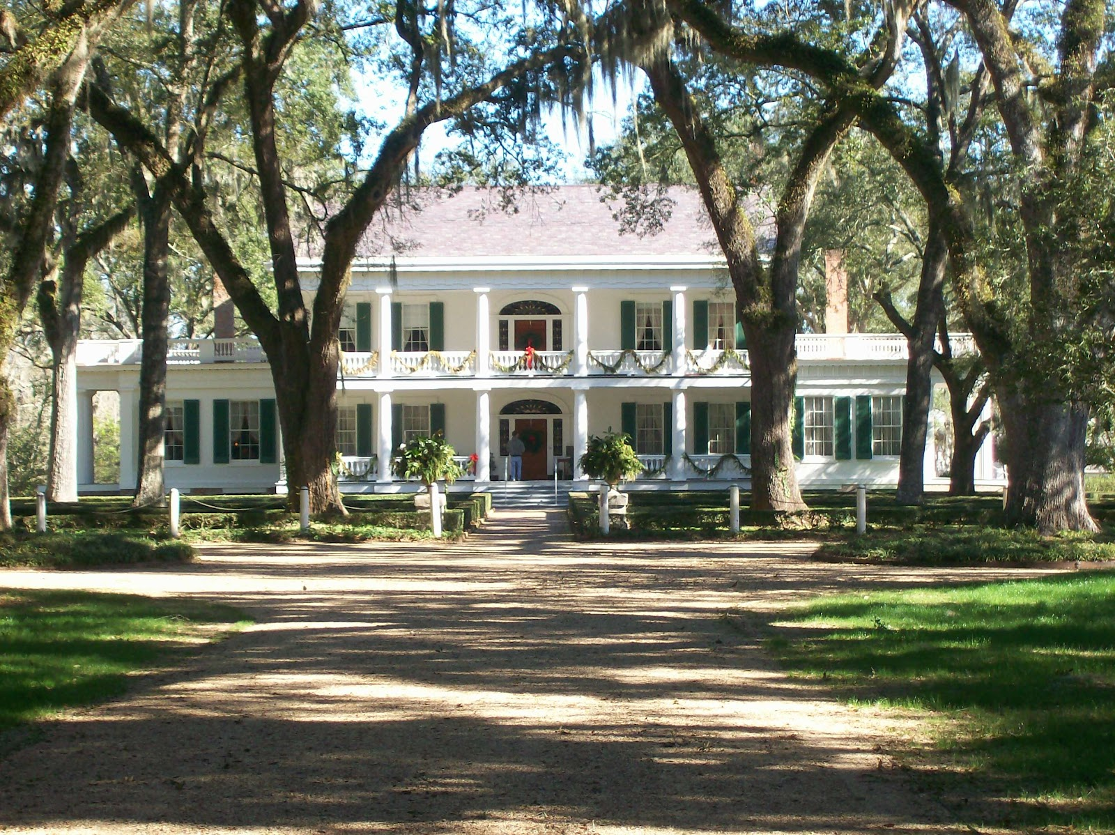 A Walk In The Countryside House Tour Rosedown Plantation