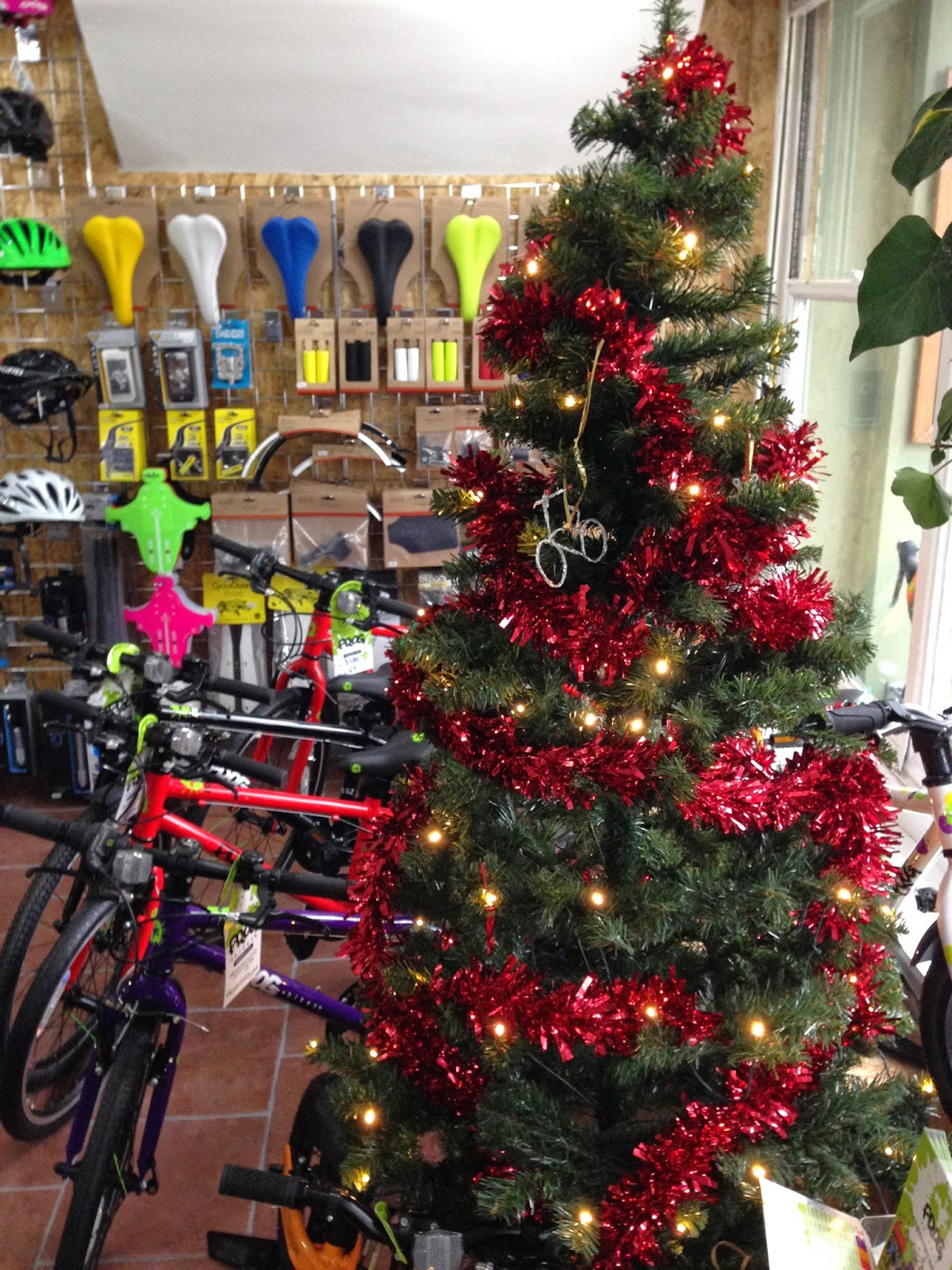 Frog lightweight bikes under the Christmas tree