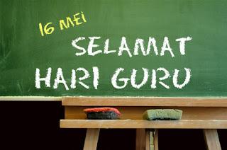 Selamat Hari Guru, Cikgu..