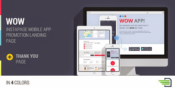 Instapage Mobile App Landing Page