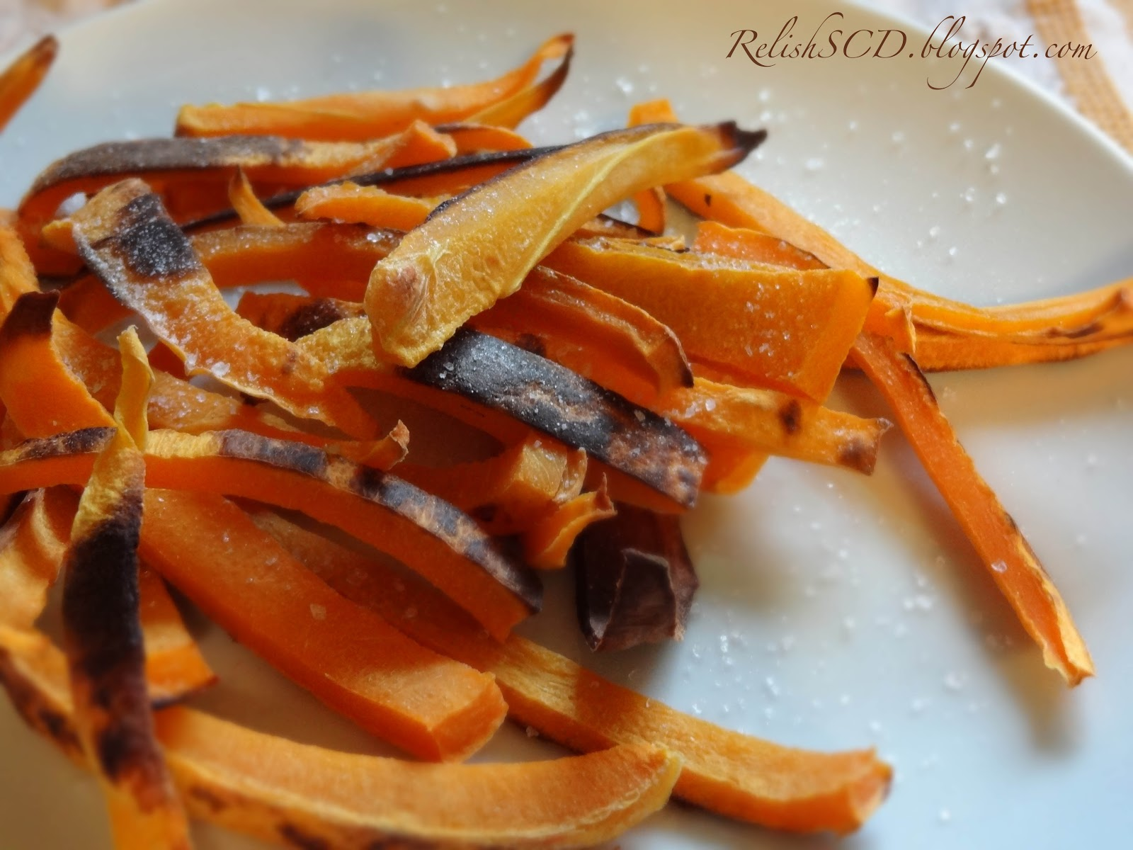 Salted Paleo: Baked Butternut Squash Fries
