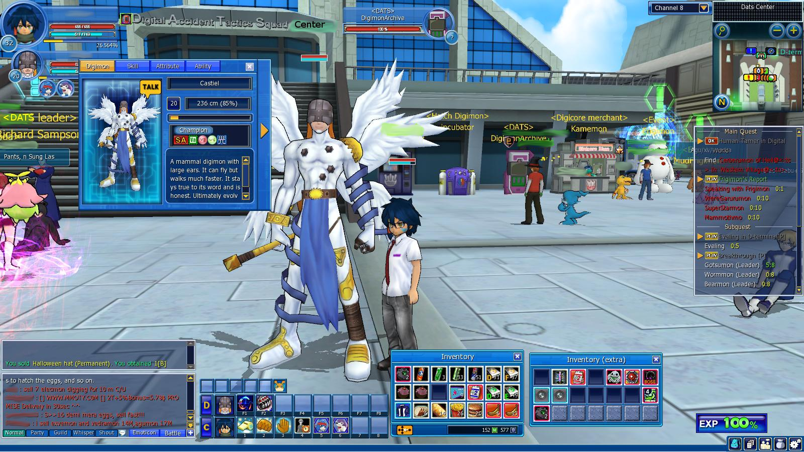 digimon world 2 digimon list
