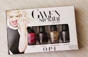 GIVEAWAY / миниатюры лаков OPI Gwen Stefani