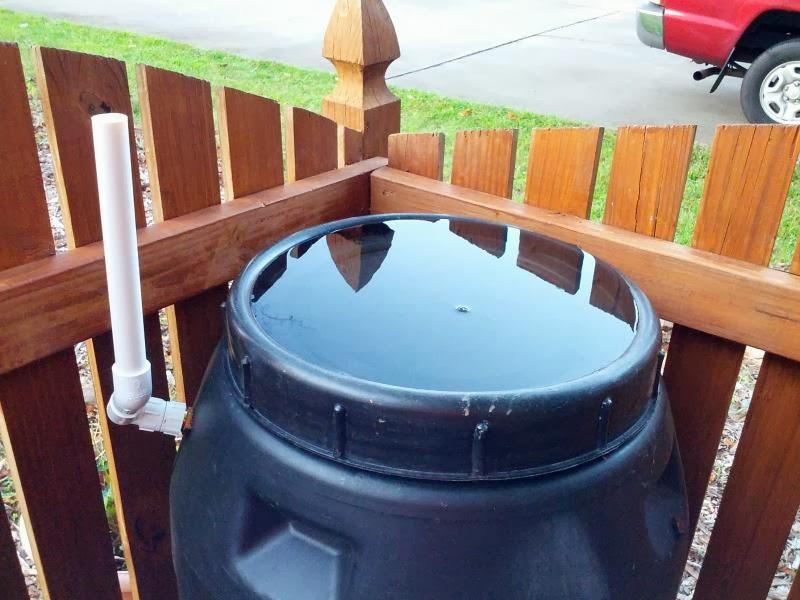 Delete the nuts overflow rain barrel problem for Rainwater drain problems