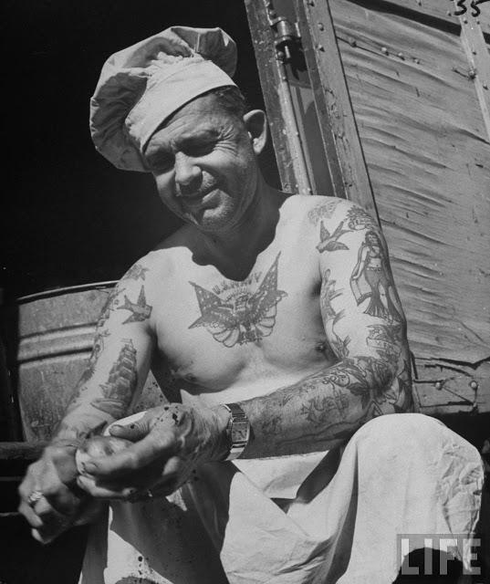 Vintage US Navy Tattoo