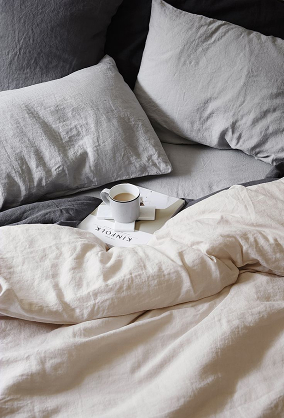 Linen bedding by Cultiver
