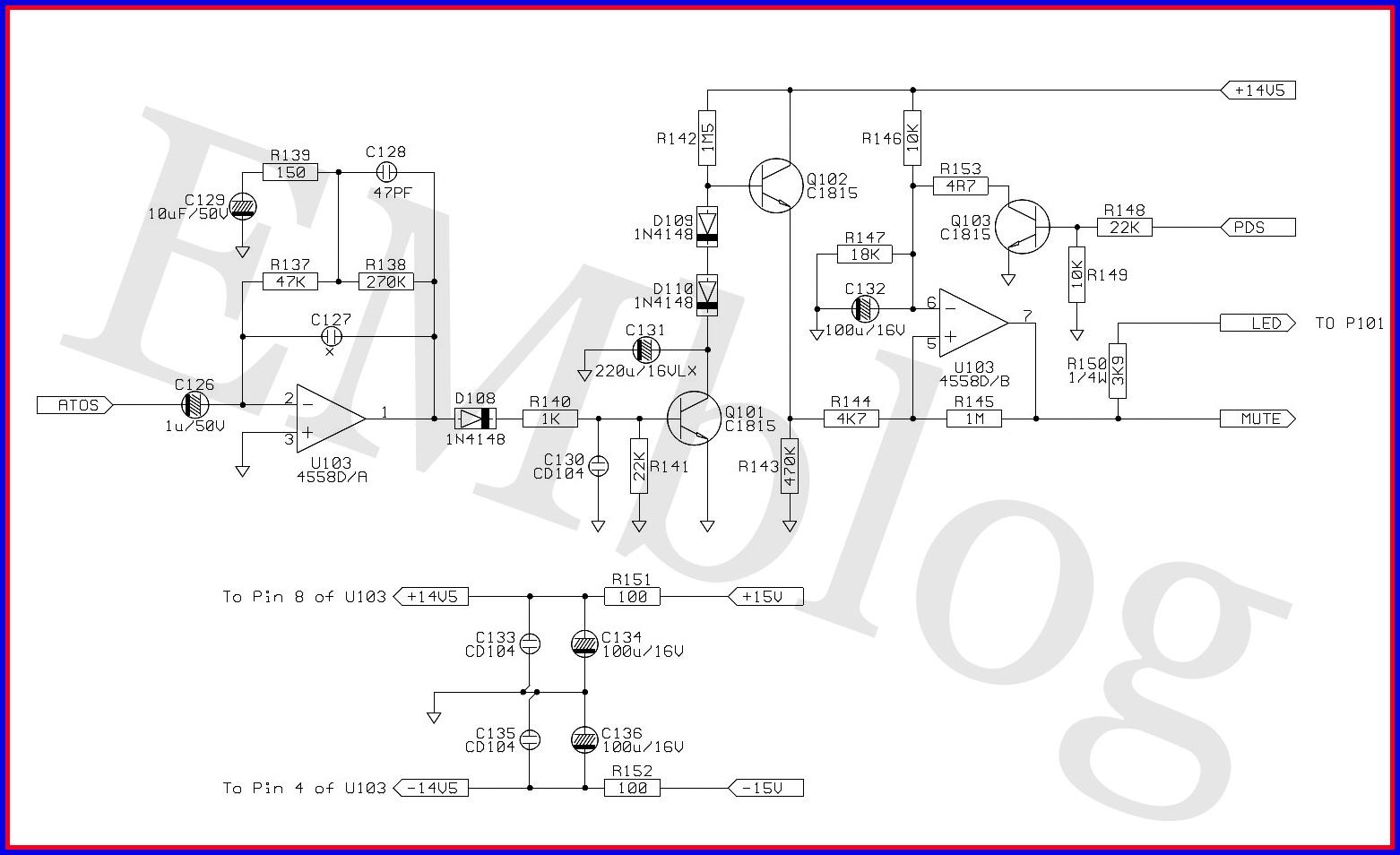Electronic Equipment Repair Centre   Jbl Es250p Powered