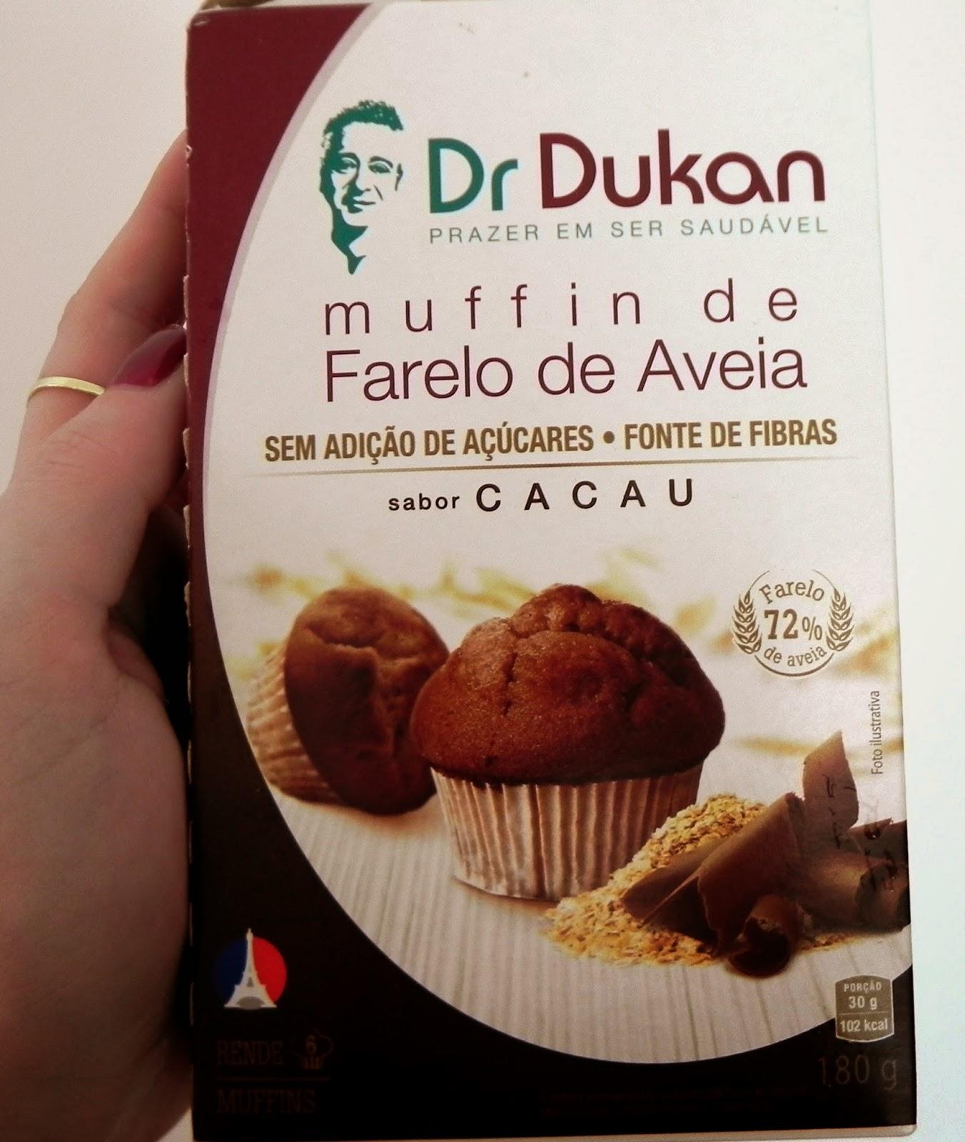 muffin de aveia