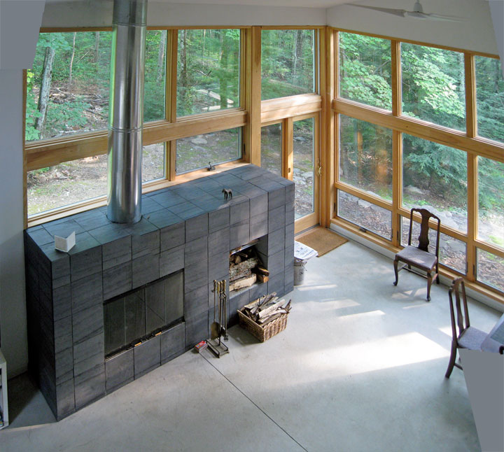 From Rustic To Radical Updating An Upstate New York Residence