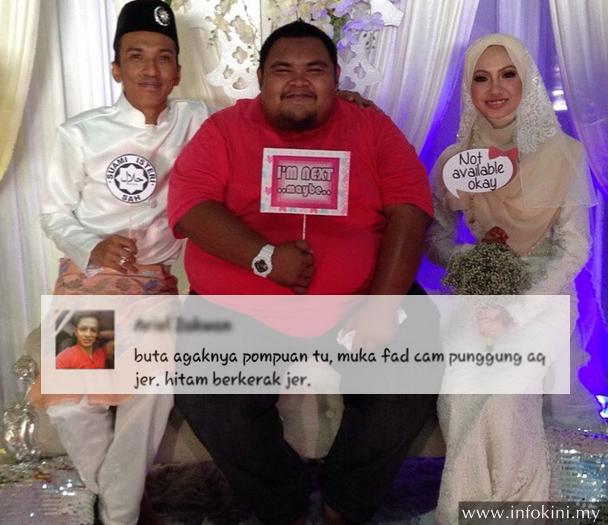 Fad kahwin dikutuk,Abam Bocey balas komen Instagram
