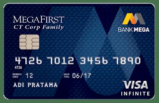 kartu kredit mega visa infinite