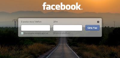 Facebook giris 1