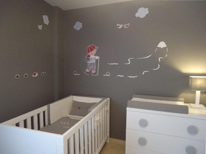 Vinilos infantiles personalizados vinilo personalizado for Vinilos habitacion nino