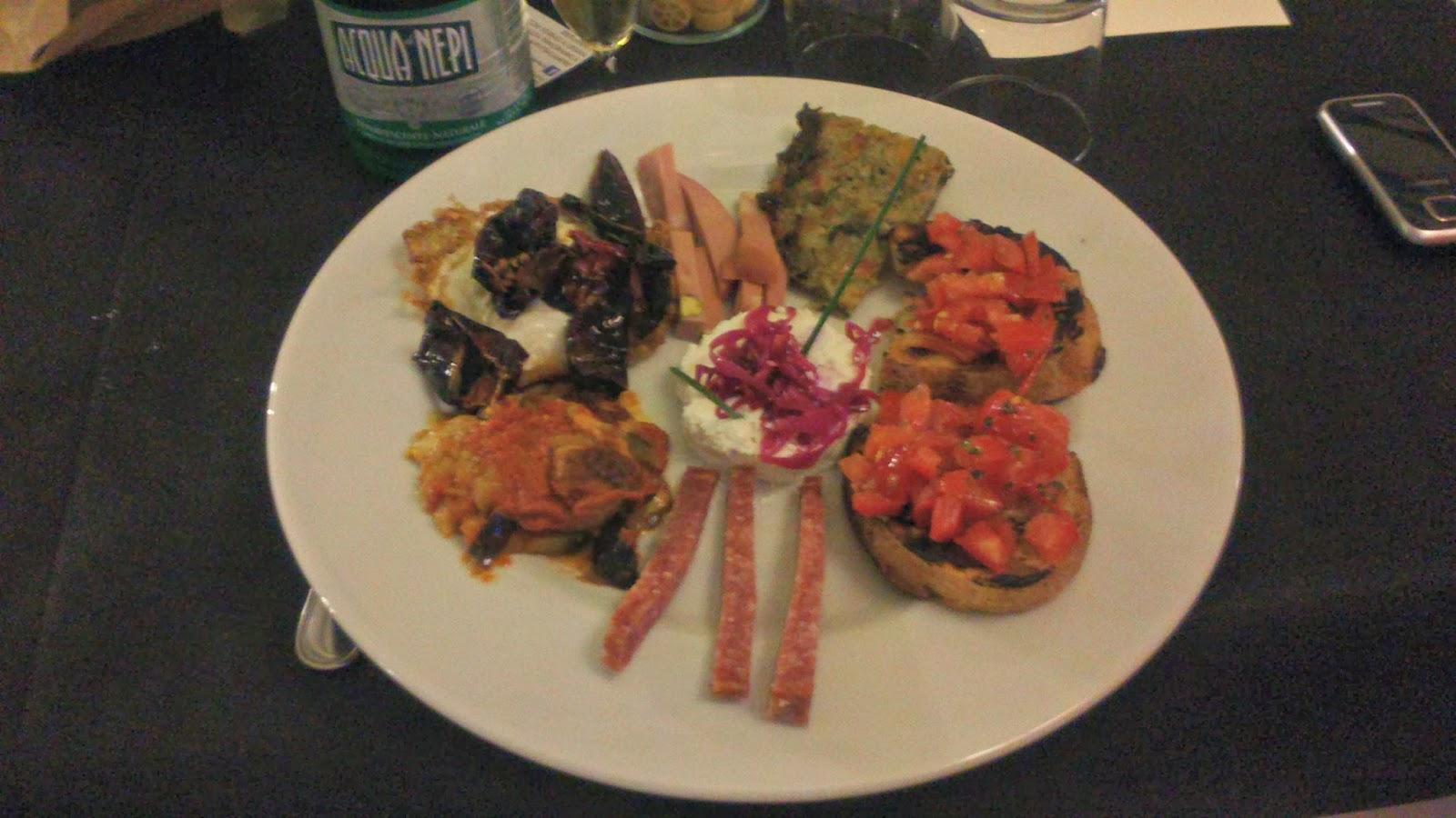 Ricette barbare cena al ristorante al casale for Antipasti romani
