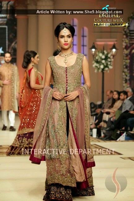 Aisha Imran's Bridal Collection at #TBCW-2014