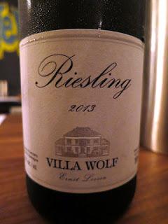Villa Wolf Riesling 2013 - Pfalz, Germany (89 pts)