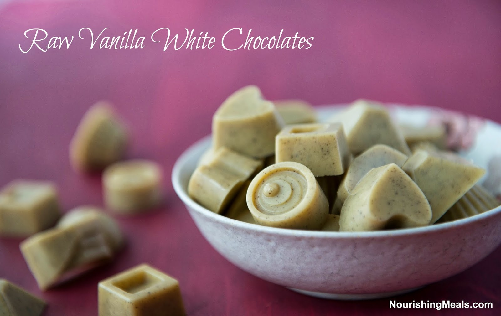 Nourishing Meals®: How to Make Raw Vanilla White Chocolates (dairy ...