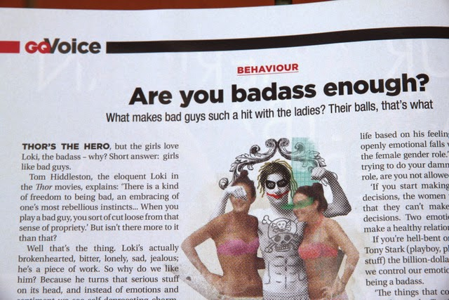Recent Photojournalism by Nick van der Leek: Published in GQ> Are you badass enough? [p86]