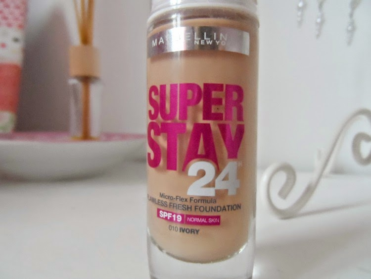Maybelline SuperStay 24hour Foundation | simplyjustnatalie