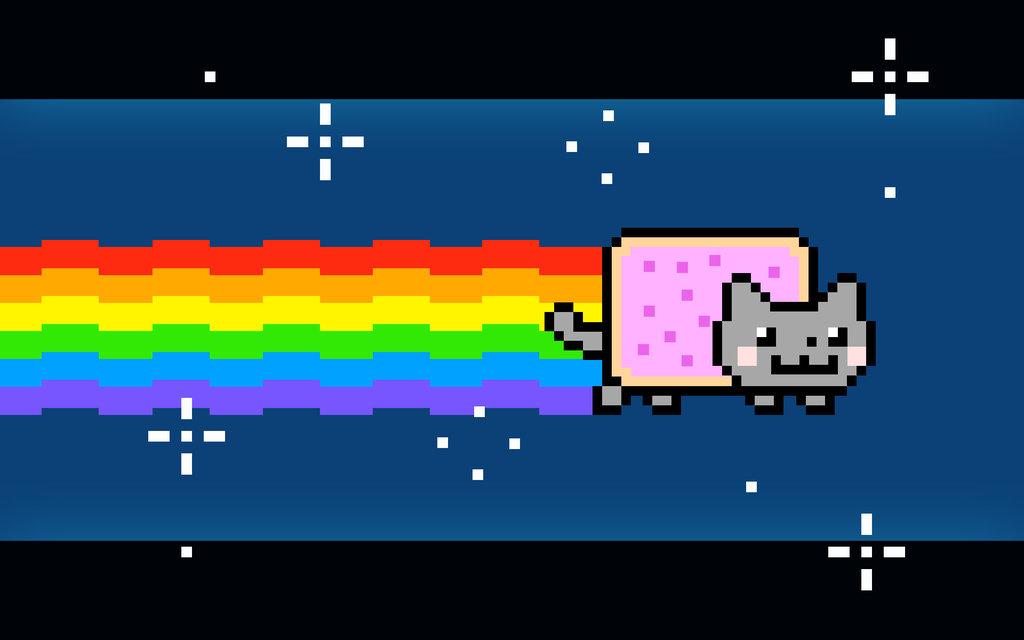 Nyan Cat And Waffle Cat a Cat Waffle Thing or Nyan