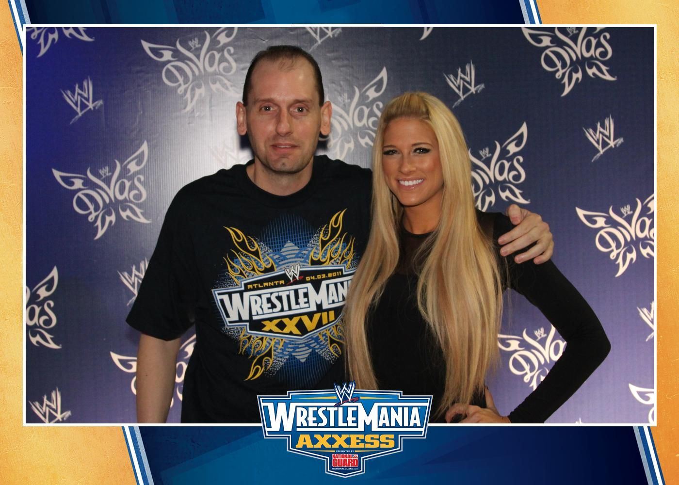 of me with Kelly Kelly: