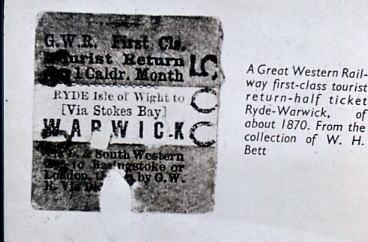 GWR Ticket