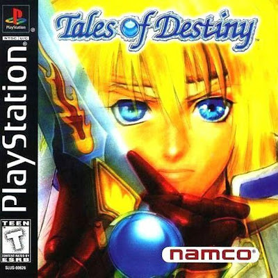 Tales of Destiny PS1 Box