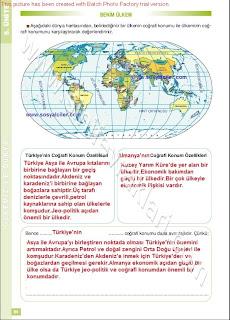 6. Sınıf Sosyal Bilgiler Altın Yayınları Öğrenci Çalışma Kitabı Cevapları Sayfa 94
