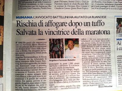 Conero Running 2013 da Il Resto del Carlino
